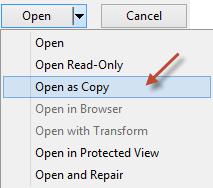 Open as Copy
