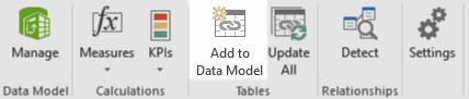 distinct count - add to data model