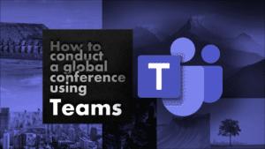 Teams online conference