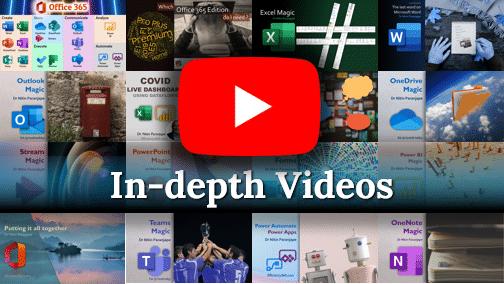 In Depth Videos - Efficiency 365 YouTube Channel